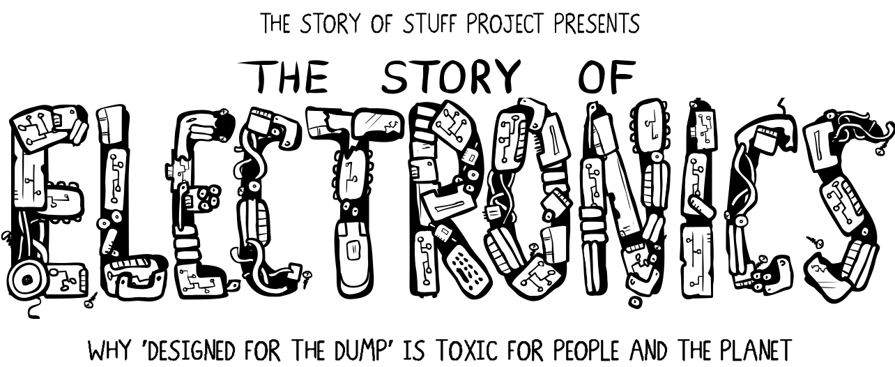 the story of the stuff Stuff that is designed to be useless as quickly as possible [ie computers, mops, dvds] perceived obsolescence convinces consumers to throw away stuff that is perfectly useful.
