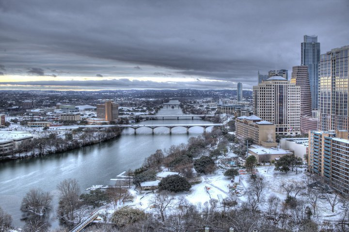 Austin in winter