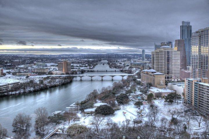 Austin in winter