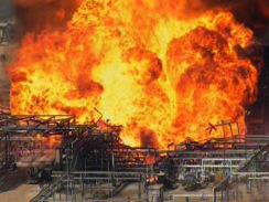 Explosion and fire at Houston chemical plant