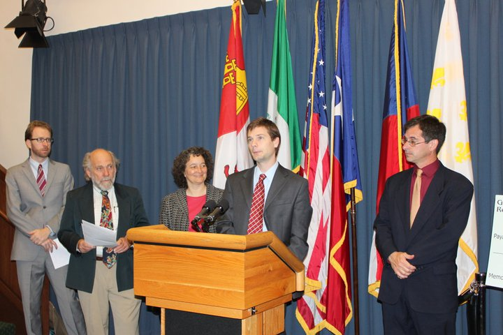 Texas League of Conservation Voters Press Conference on Green Revenue March 29, 2011