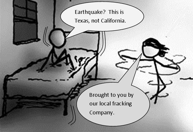 Fracking and Earthquake