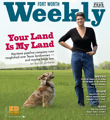 Fort Worth Weekly Cover 4-11-12