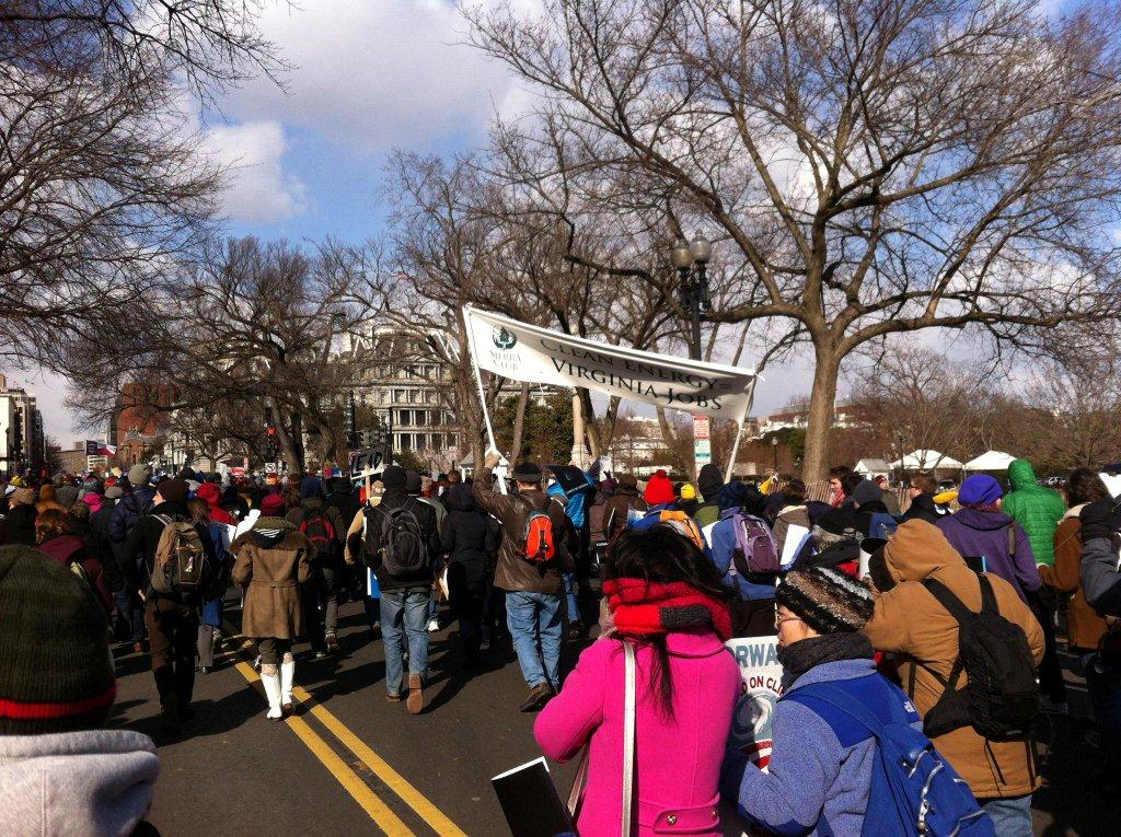 2013-02-17 Forward on Climte Rally March on the White House