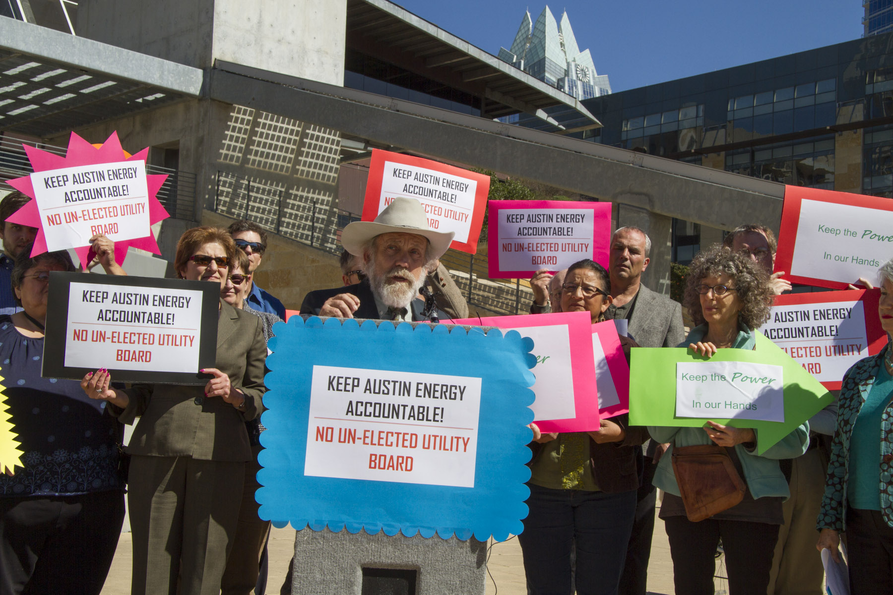 Press Conference RE: Austin Energy Governance 2-13-13