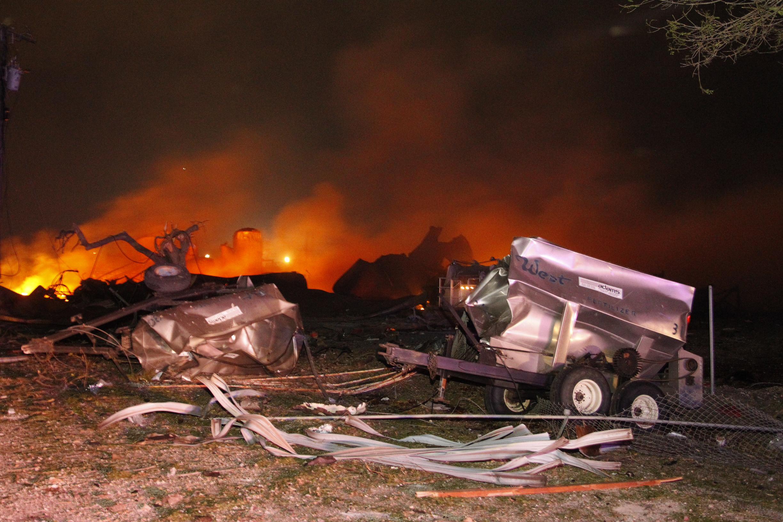 Plant Explosion Texas