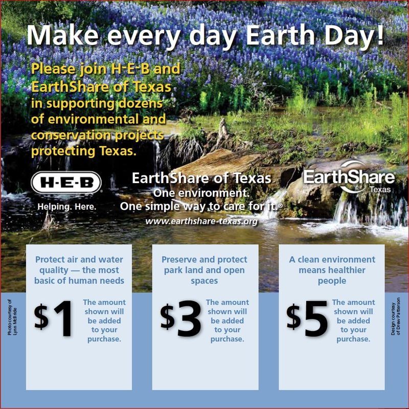 Earthshare HEB Campaign