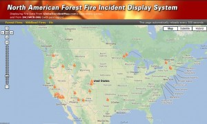 US wildfires May to June 2013