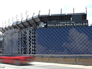Solar Panels on an NFL stadium (http://m.sportsbusinessdaily.com/Daily/Issues/2012/03/02/Facilities/Eagles.aspx)