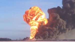 North Dakota Oil Train explosion - Dan Gunderson