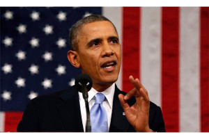 Obama SOTU - credit Larry Downing,AP