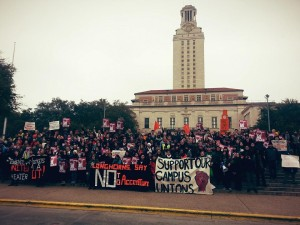 united students against sweatshops rally for workers rights in austin