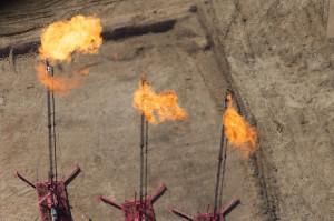 Gas flaring, Cotulla, TX Photo by Al Braden