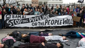 Keystone XL Youth Protest in Washington D.C. Photo credit: Nicholas Kammafp, Getty Images