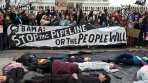 Keystone XL Youth Protest in Washington D.C. Photo credit: Nicholas Kammafp, Getty Images