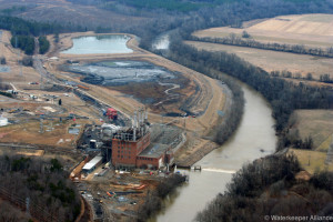 2014 Coal Ash River - Photo By Waterkeeper Alliance Inc