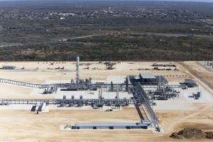Anadarko Brasada Cyro Gas Plant, Phase 1 of 3, Cotulla, TX. Photo by Al Braden