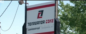 sign for Tonawanda Coke Plant