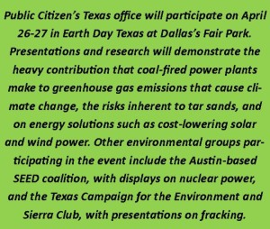 PC Earthday Texas Announcement