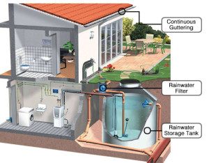 Rainwater Harvesting Diagram - by Vanisle Water