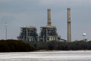 Big Brown coal plant in Texas