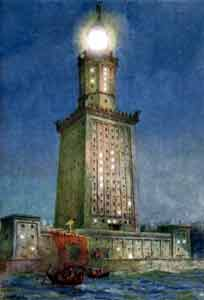 Lighthouse of Alexandria (280 B.C.)