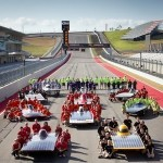 The University of Texas at Austin Solar Vehicles Team serves as local university host for the Formula Sun Grand Prix, an annual collegiate solar car race. This year, the event takes place at the Circuit of The Americas track, the first time Formula Sun has occurred on an official F1 track. Circuit of The Americas is also a sponsor of the UT team.