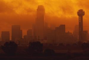Dallas sitting in smog
