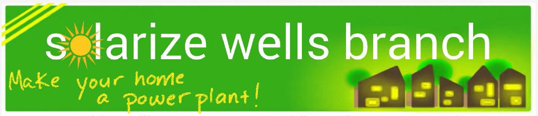Solarize Wells Branch