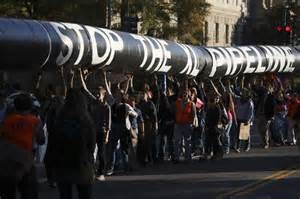 KXL protest - Texas activists