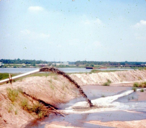 San Jacinto River Waste Pits' Disposal in the 1960's - Photo from TexansTogether.org
