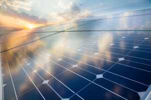 solar panels - photo from Shutterstock