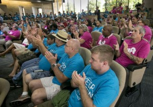 City Council Committee Meeting – Photo by Laura Skelding, Austin American Statesman