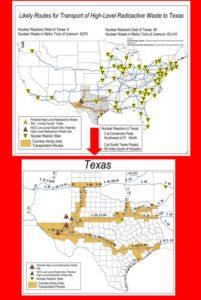 Rad Waste Transportation Routes